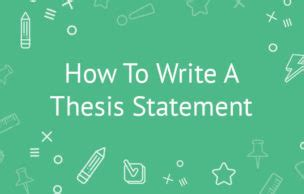 How to make thesis introduction